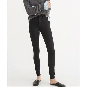 Abercrombie Sculpt High Rise Jeggings